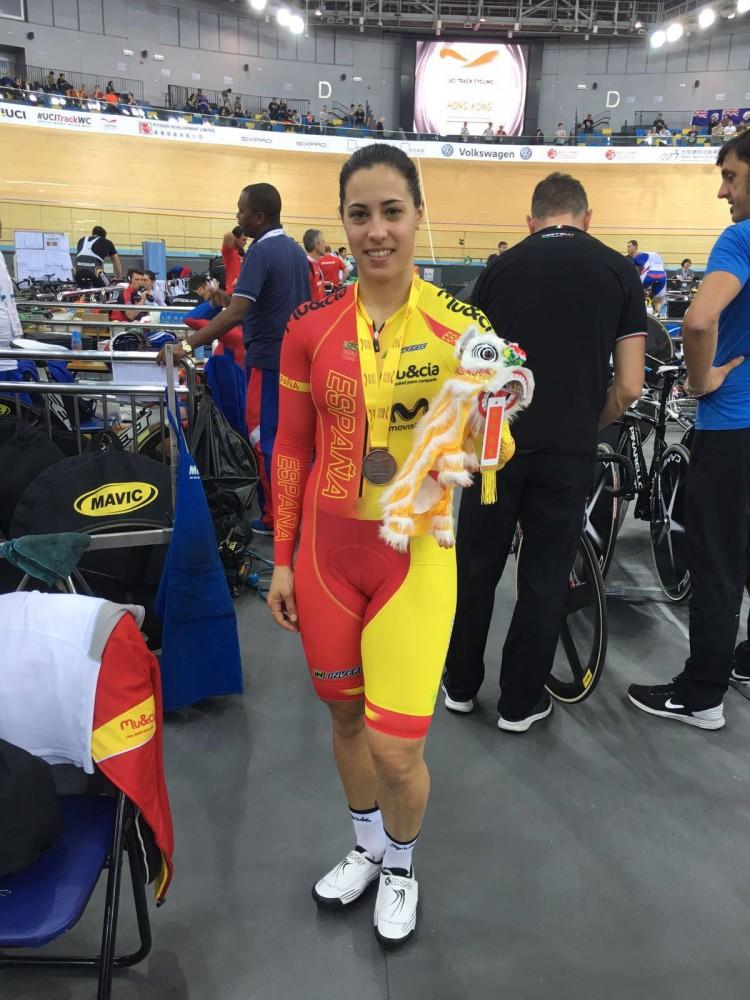 Tania Calvo Copa Mundo Hong Kong 2015
