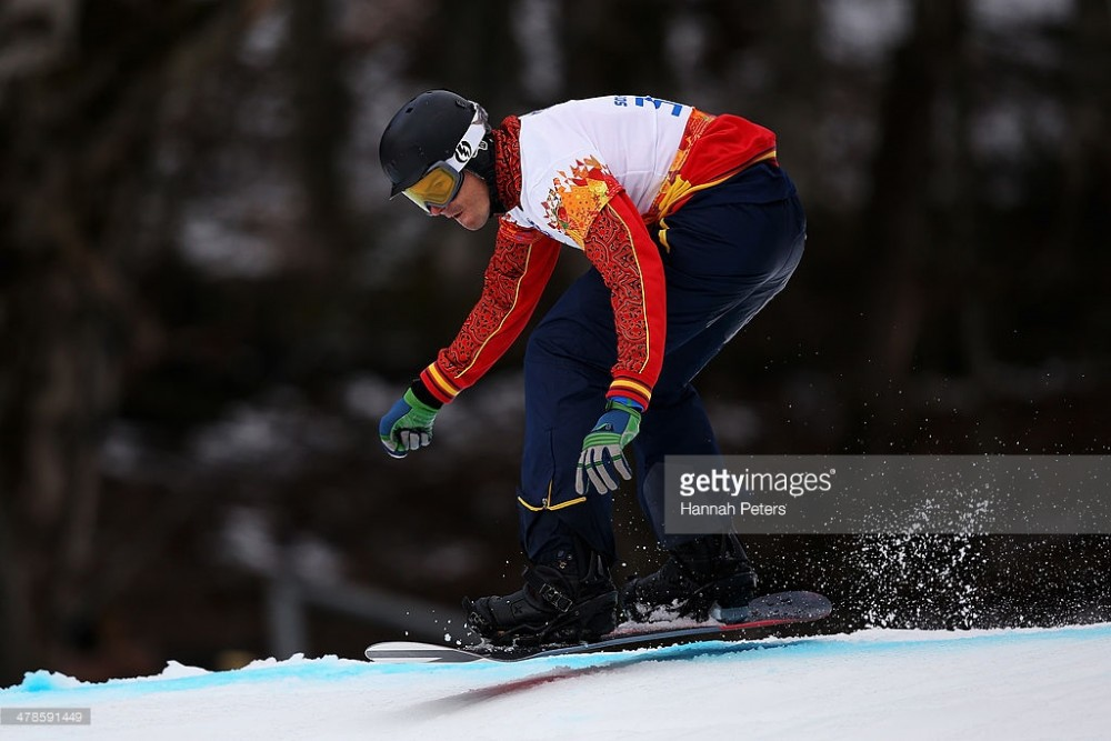 during day seven of the Sochi 2014 Paralympic Winter Games at Rosa Khutor Alpine Center on March 14, 2014 in Sochi, Russia.