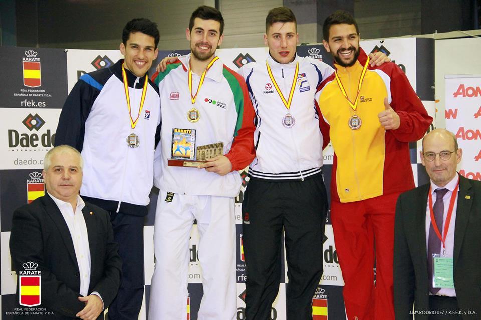 podium Cto españa 2016