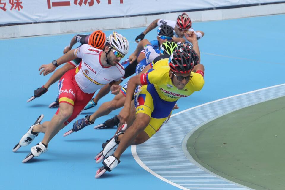Patxi Peula campeón mundo 10.000 puntuación China 2017