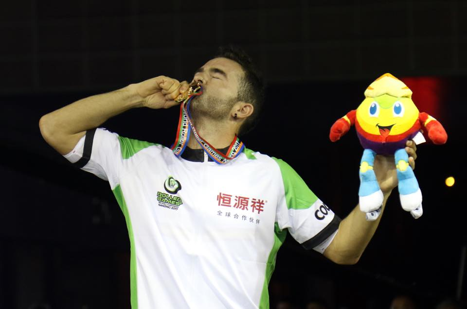 Patxi Peula oro Mundial Nanjing 2017