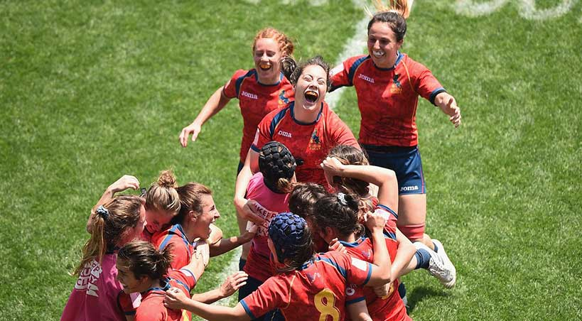Japon chicas rugby world series