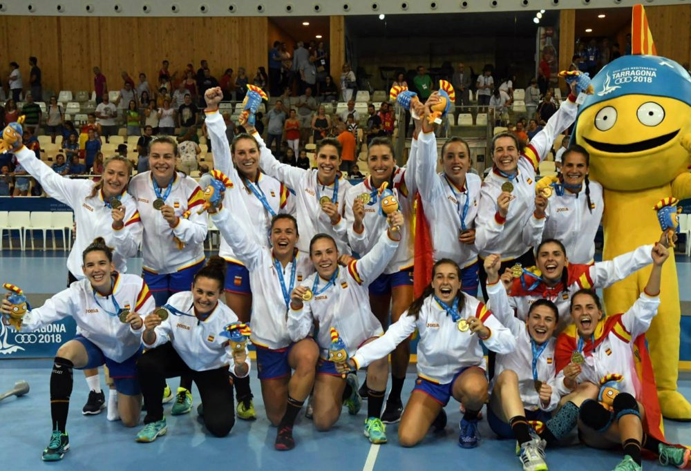 balonmano oro chicas Juegos mediterraneo