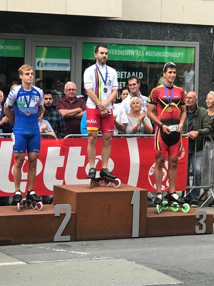 Patxi Peula oro Europeo 2018 20km eliminación