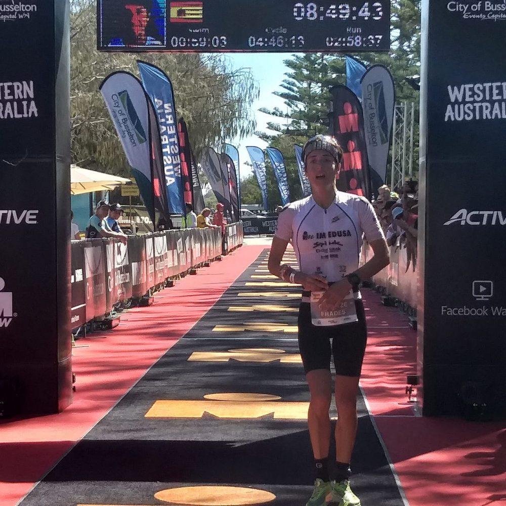 Gurutze Frades 3ª ironman Australia 2019
