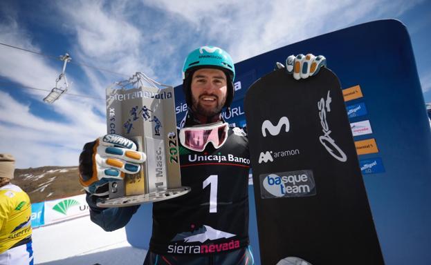 Lucas Eguibar 1º Sierra Nevada